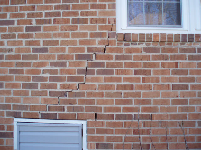 Brick Wall Crack Repair